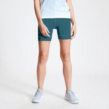 Women's Habit Foam Insert Cycling Shorts Dragonfly Green