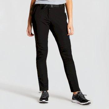 Women's Revify Lightweight Multi Pocket Walking Trousers Black