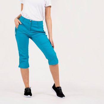 Women's Melodic II 3/4 Length Walking Trousers Freshwater Blue