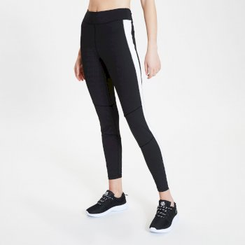 Women's Curvate Leggings Black White