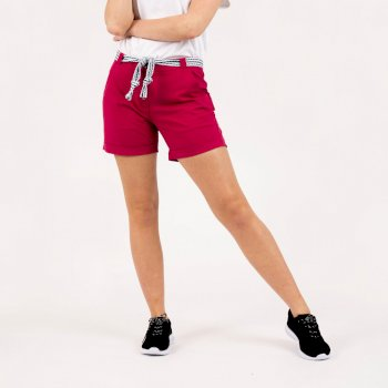 Women's Melodic Offbeat Shorts Berry Pink