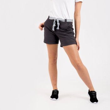 Women's Melodic Offbeat Shorts Ebony Grey
