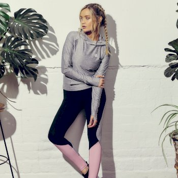 The Laura Whitmore Edit - Upgraded Fitness Tight Black Powder Pink