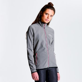 Women's Centra Softshell Jacket Smokey Grey