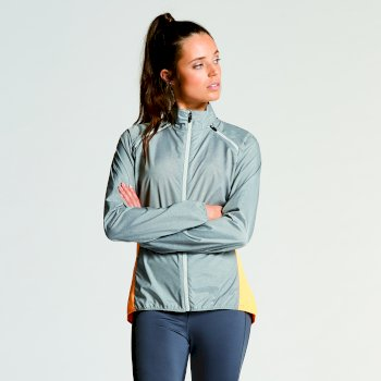 Women's Unveil II Windshell Jacket Mid Grey