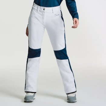 1f47a4502 Women's Gilded Luxe Ski Pants White Blue Wing