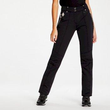 Dare 2B x Julien Macdonald - Women's Plentitude Softshell Ski Pants Black