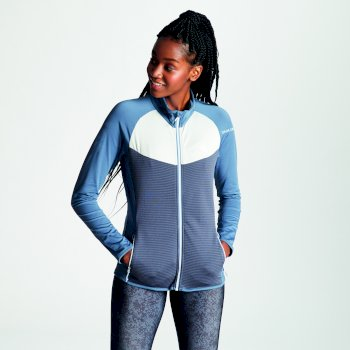 Women's Allegiance Lightweight Core Stretch Midlayer Meteor Grey Quarry Grey