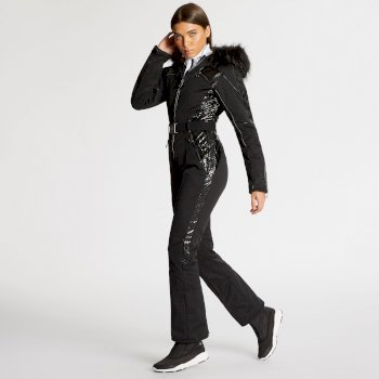 Dare 2B x Julien Macdonald - Women's Maximum Ski Suit Black