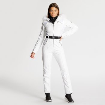 Dare 2B x Julien Macdonald - Women's Maximum Ski Suit Blanc