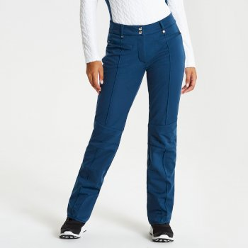 Women's Clarity Luxe Ski Pants Blue Wing