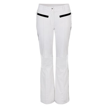Women's Clarity Luxe Ski Pants White Black