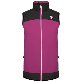 Women's Duplicity Softshell Gilet Active Pink Black