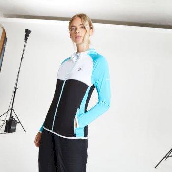 Veste stretch Femme extensible avec capuche COURTEOUS II Bleu
