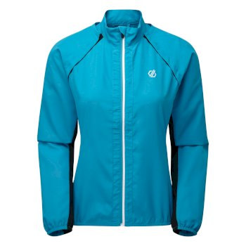 Women's Rebound Lightweight Windshell Jacket Freshwater Blue