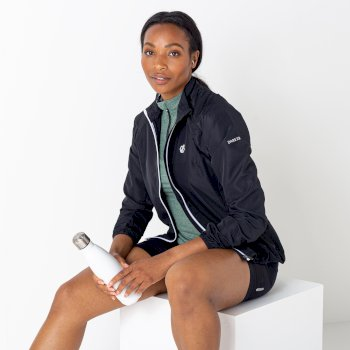 Women's Rebound Lightweight Windshell Jacket Black