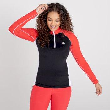 Women's Involved II Lightweight Core Stretch Midlayer Lollipop Red Black