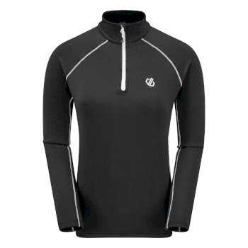 Women's Involved II Half Zip Lightweight Core Stretch Midlayer Black