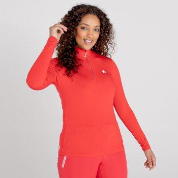 Women's Lowline II Lightweight Core Stretch Midlayer Lollipop Red