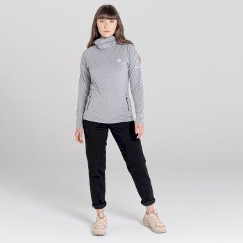 Women's On Guard Core Stretch Midlayer Ash Grey Marl