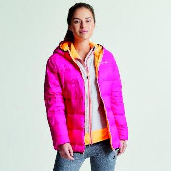 Veste Low Down Jacket PkFus/OrnBst