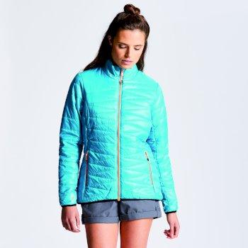 Women's Intertwine Jacket Sea Breeze Blue