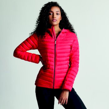 9753f3caae Women s Drawdown Down Fill Insulated Jacket Lollipop Red
