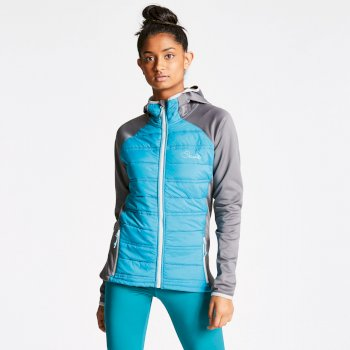 Women's Sodality Hybrid Jacket Sea Breeze Blue