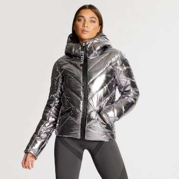 Dare 2B x Julien Macdonald - Women's Countess Insulated Jacket Chrome