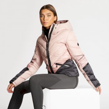 Dare 2B x Julien Macdonald - Women's Countess Insulated Jacket Blush