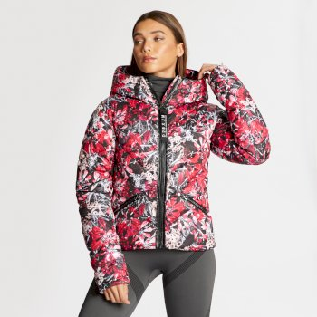 Dare 2B x Julien Macdonald - Women's Countess Insulated Jacket Red Jewel