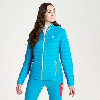 Womens' Elative Down Fill Insulated Jacket Fresh Water Blue