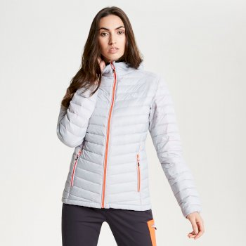 Womens' Elative Down Fill Insulated Jacket Argent Grey