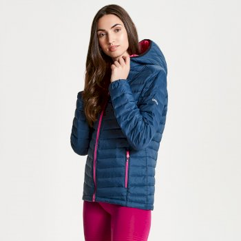 Womens' Elative Down Fill Insulated Jacket Blue Wing