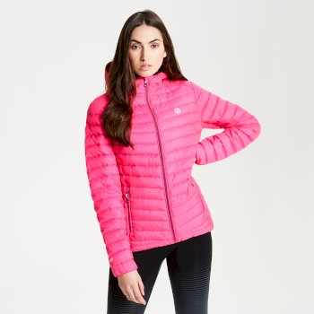 Womens' Elative Down Fill Insulated Jacket Cyber Pink