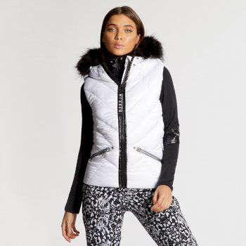 Dare 2B x Julien Macdonald - Women's Majesty Bodywarmer Blanc
