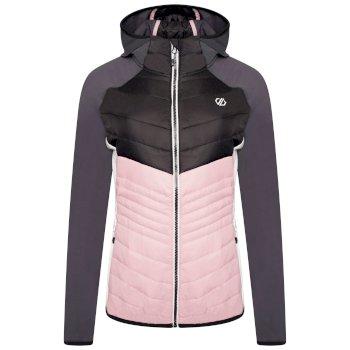 Women's Nominate Lightweight Wool Hybrid Jacket Powder Pink Black