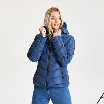 Veste matelassée isolante Femme REPUTABLE - Colection Luxe  Bleu
