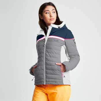 17924fbfd7 Women s Novela Ski Jacket Silver Flash