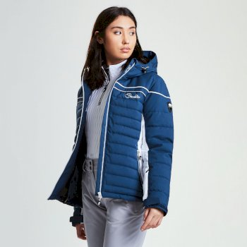 Veste imperméable chaude Novela Jacket Blue Wing