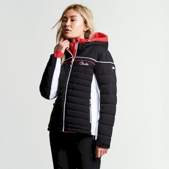 Veste imperméable chaude Novela Jacket Noir