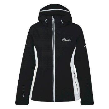Veste imperméable chaude Contrive Jacket Noir