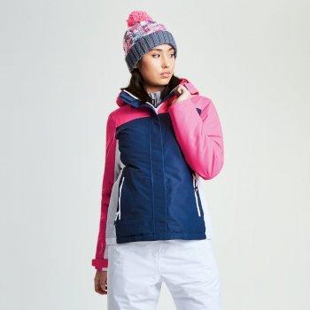 Veste imperméable chaude Prosperity Jacket BlWng/LumPnk