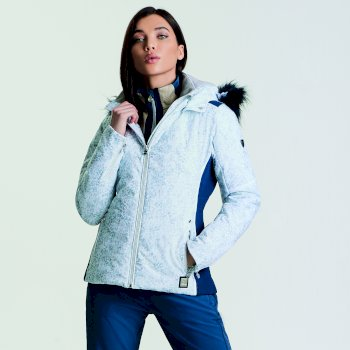 8e46a5d329 Women s Providence Luxe Ski Jacket White Animal Print
