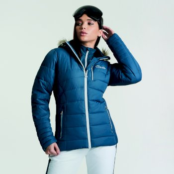 Women's Curator Luxe Ski Jacket Blue Wing