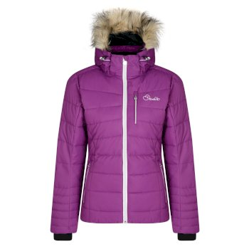Women's Curator Luxe Ski Jacket Grape Juice