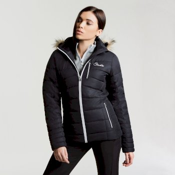 Women's Curator Luxe Ski Jacket Black