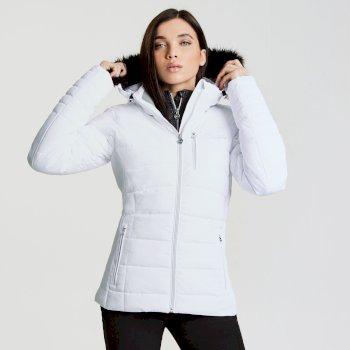 Women's Curator Luxe Ski Jacket White