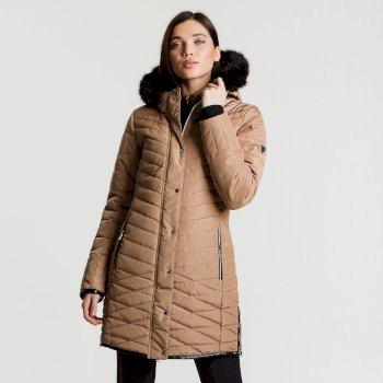 Veste imperméable chaude Svelte Jacket Mid Brown