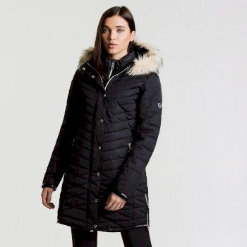 Women's Svelte Luxe Ski Jacket Black